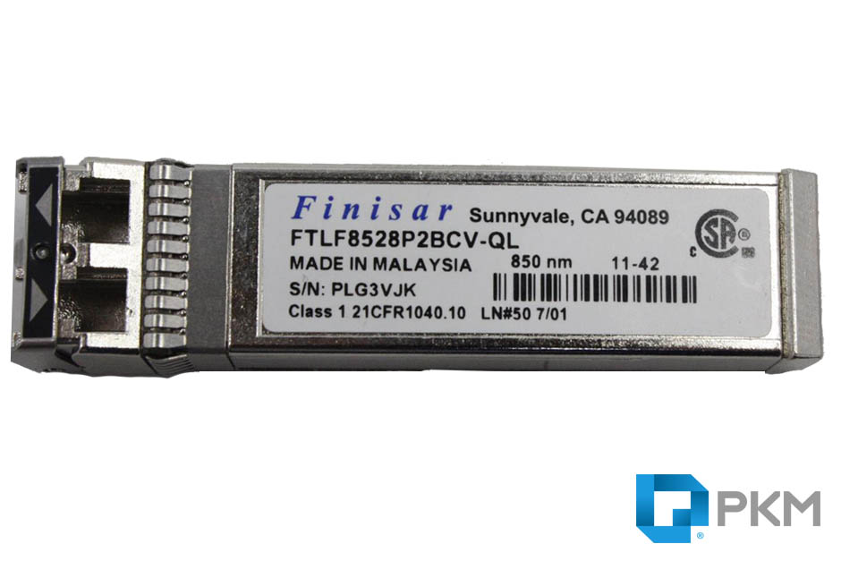 SFP  ماژول Finisar 21CFR1040-10 8Gb Short Wave Fibre Optic 850nm SFP+ Transceiver