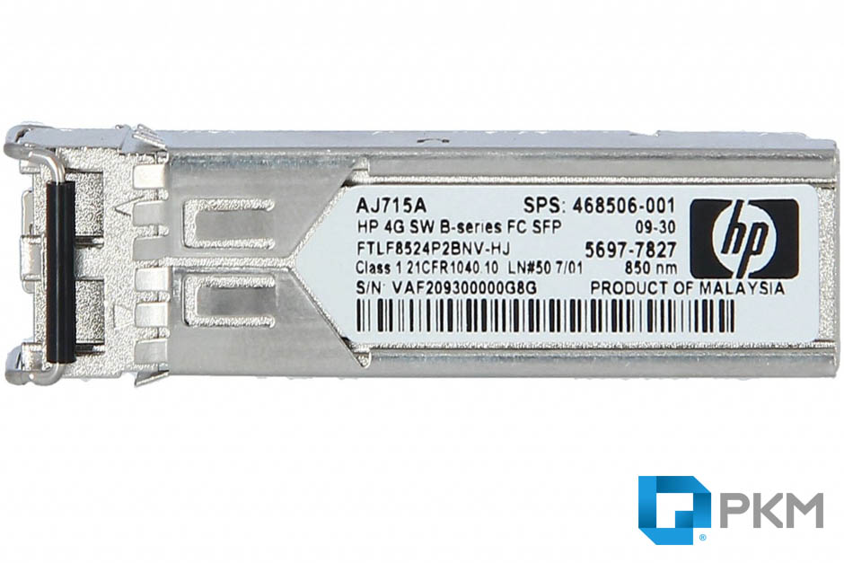 SFP  ماژول HP AJ715A 4Gb Short Wave Fiber Channel SFP+ Module