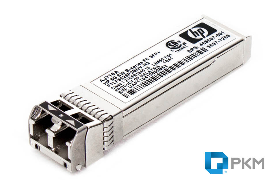 SFP  ماژول HP AJ716A 8Gb Short Wave Fiber Channel SFP+ Module
