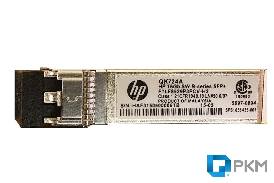 SFP  ماژول HP QK724A 16Gb Short Wave B-series SFP+  Transceiver